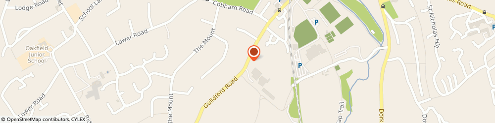 Route/map/directions to F W & M Neary,Limited, KT22 9DL Fetcham, WOODSTOCK HOUSE, HAWKS HILL
