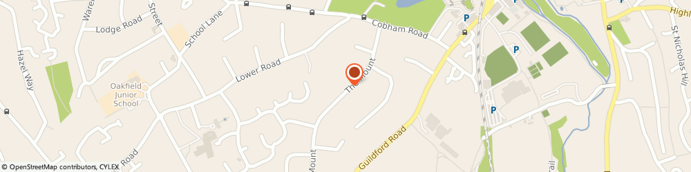 Route/map/directions to physioONE Physiotherapy and Sports Injury Clinic Ashtead, KT22 9EE Fetcham, 20 The Mount