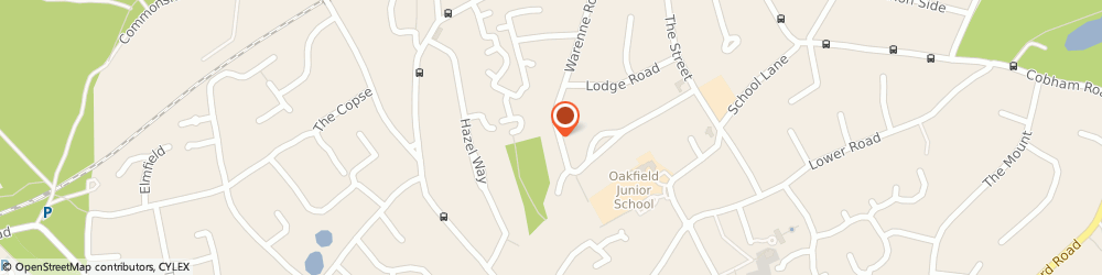 Route/map/directions to Sj Heating Services, KT22 9QP Fetcham, 93 Gatesden Roadfetcham