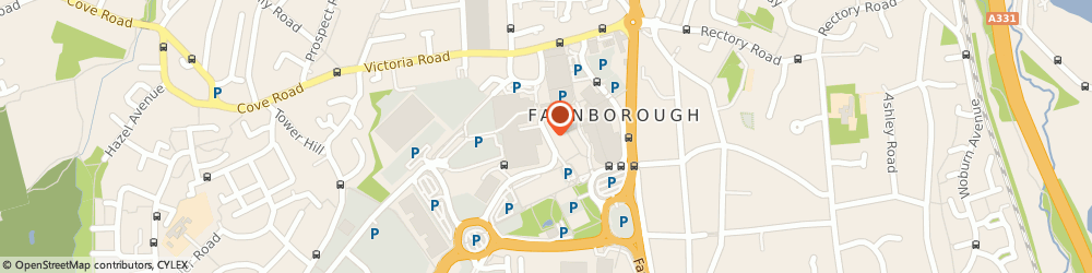 Route/map/directions to Docusoft, GU14 7LP Farnborough, Westmead House Westmead Road
