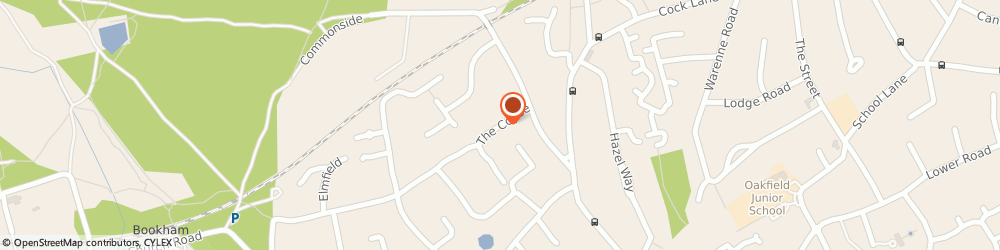 Route/map/directions to Panacea Plumbing & Heating, KT22 9TD Fetcham, 6 The Copse