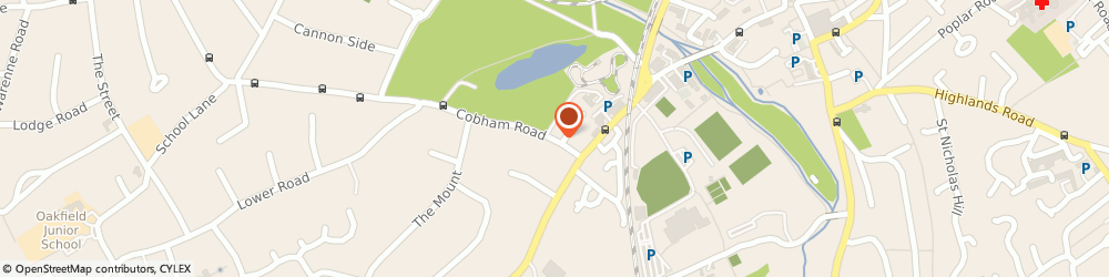 Route/map/directions to Sunmead Plumbing, KT22 9AW Fetcham, 8 COBHAM ROAD