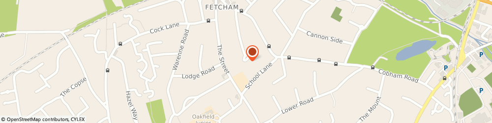 Route/map/directions to Ataxi4you Ltd, KT22 9JB Fetcham, 37 ORCHARD CLOSE