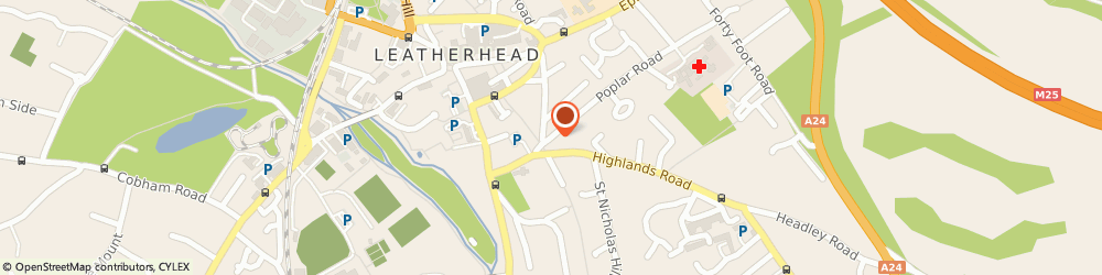 Route/map/directions to Intuition, KT22 8SH Leatherhead, 7 POPLAR AVENUE