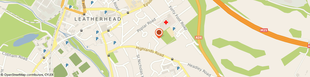 Route/map/directions to Lionheart Physiotherapy Clinic, KT22 8NN Leatherhead, 22, Highlands Avenue