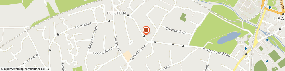 Route/map/directions to Supreme Luxury Car Hire, KT22 9HX Leatherhead, 101, Cobham Road