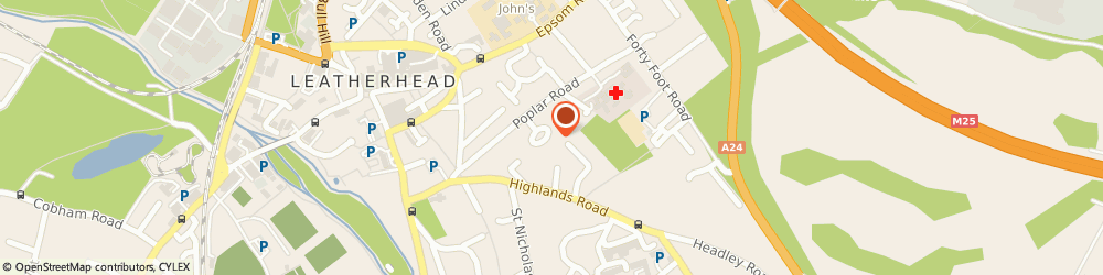 Route/map/directions to Az Property Maintenance, KT22 8SH Leatherhead, 31 POPLAR AVENUE