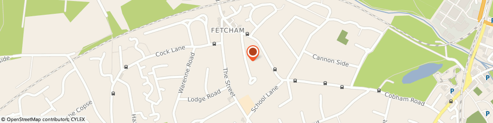 Route/map/directions to A To b Cars, KT22 9HZ Fetcham, ORCHARD CL