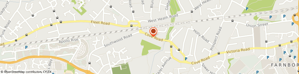 Route/map/directions to So Impressed, GU14 0HQ Farnborough, 155 Cove Rd