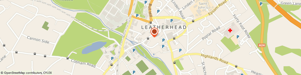 Route/map/directions to QualitySolicitors Palmers, KT22 8BN Leatherhead, 35 Bridge Street