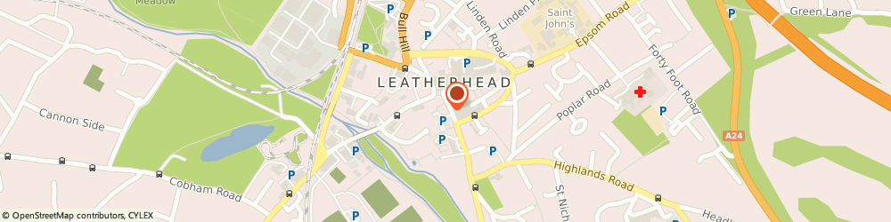 Route/map/directions to Waitrose & Partners, KT22 8DW Leatherhead, 14-22 Church Street