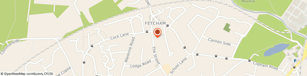 Route/map/directions to Wings Garden, KT22 9RD Fetcham, 83 The Street