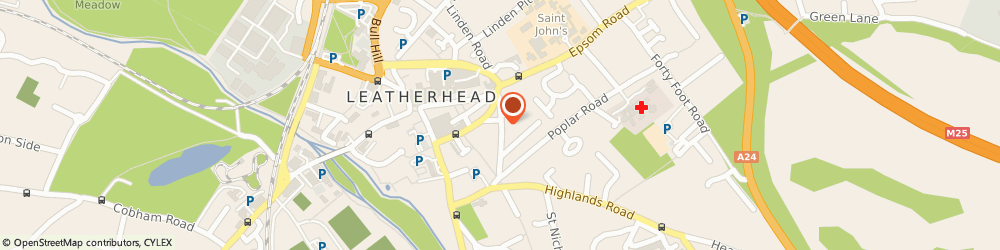 Route/map/directions to PREZZO - Leatherhead, KT22 8DN Leatherhead, 21 - 25 Church Street