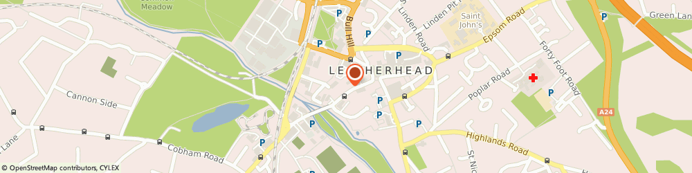 Route/map/directions to Carshop, KT22 8BZ Leatherhead, 6 Bridge Street