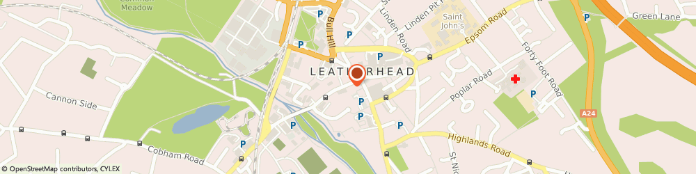 Route/map/directions to Botan Kebabs, KT22 8BL Leatherhead, 13 Bridge St