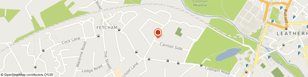 Route/map/directions to Mrs Carolyn Trott Leatherhead Fetcham, KT22 9LG Fetcham, BOOKHAM CHARTERED PHYSIOTHERAPY SERVICE, 13 CANNON GROVE