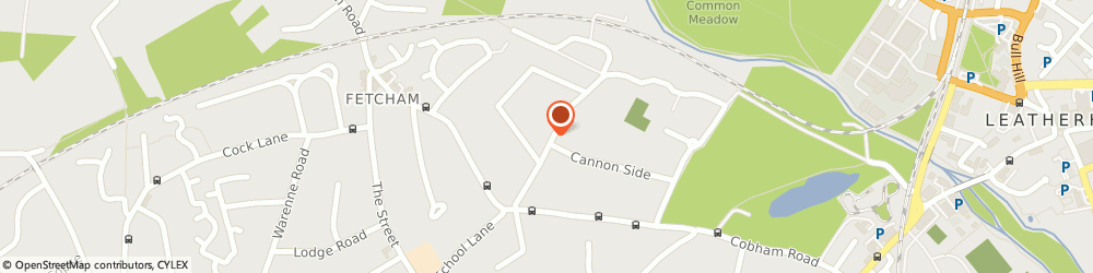 Route/map/directions to Bookham Chartered Physiotherapy Service, KT22 9LG Fetcham, 13 Cannon Grove