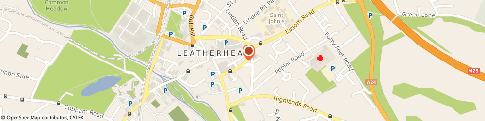 Route/map/directions to Helpit Systems Ltd, KT22 8DY Leatherhead, 15 - 17 The Crescent