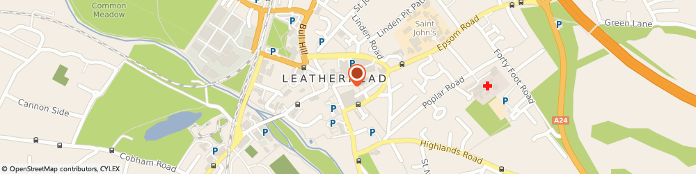 Route/map/directions to Greggs, KT22 8AN Leatherhead, 4 High Street