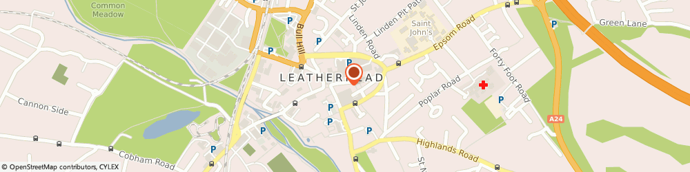 Route/map/directions to Taste Of Raj, KT22 8AN Leatherhead, 4 High Street