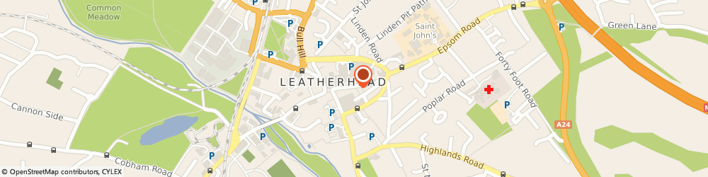 Route/map/directions to Amici, KT22 8AN Leatherhead, 18 High Street