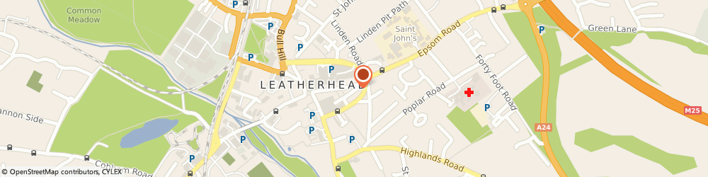 Route/map/directions to The Hair Shop, KT22 8AJ Leatherhead, 34, HIGH STREET