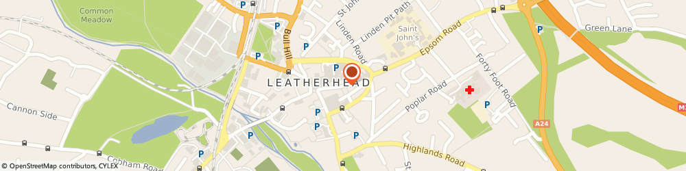 Route/map/directions to Locksmiths Leatherhead Emergency Lock Repairs Leatherhead Services, KT22 8AG Leatherhead, HIGH STREET