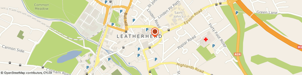 Route/map/directions to Gabagool, KT22 8AN Leatherhead, 16 High Street