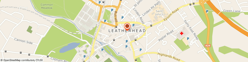 Route/map/directions to Martin & Co Estate Agents Leatherhead, KT22 7AW Leatherhead, 10 North Street