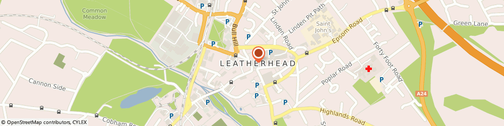 Route/map/directions to Royal Fried Chicken & Pizza, KT22 7AW Leatherhead, 12 North Street