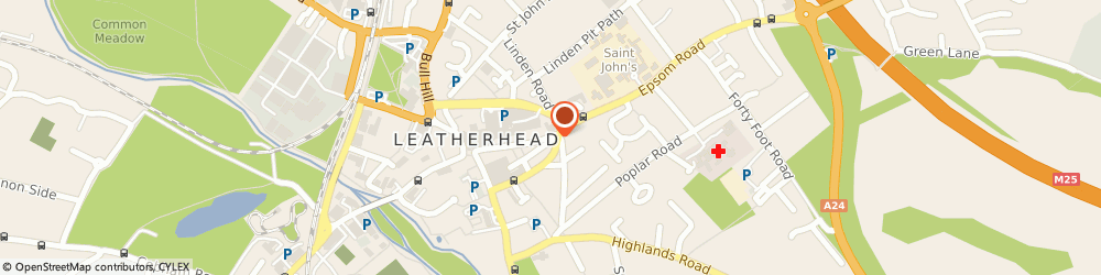 Route/map/directions to Howell-Jones Solicitors Leatherhead, KT22 8AJ Leatherhead, 52 High Street