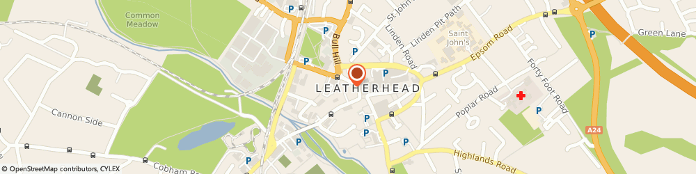 Route/map/directions to Chimes Cafe, KT22 7AX Leatherhead, 3A, NORTH STREET
