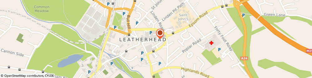 Route/map/directions to Piazza Firenze, KT22 8AG Leatherhead, 45-47 High St