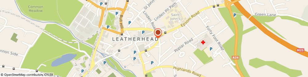 Route/map/directions to JSY Design Ltd, KT22 8AQ Leatherhead, 63 High Street