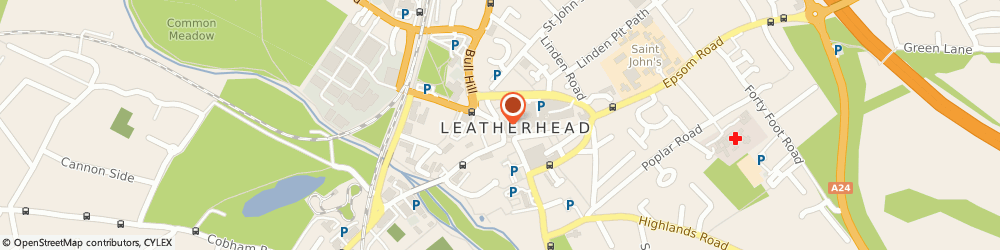 Route/map/directions to Lloyds Bank - Leatherhead, KT22 7AS Leatherhead, 20 North Street