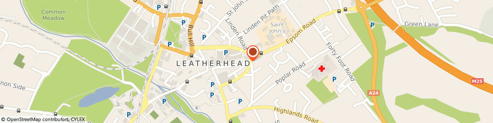 Route/map/directions to Ahmad Medicals Limited, KT22 8AE Leatherhead, 39 HIGH STREET