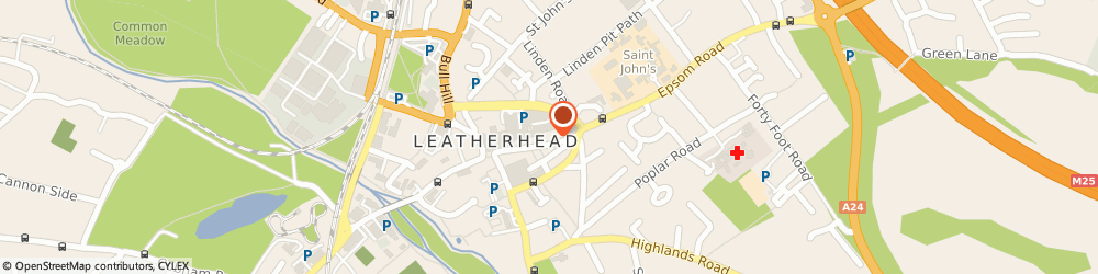 Route/map/directions to Sunshine Cafe, KT22 8AG Leatherhead, 55 High Street