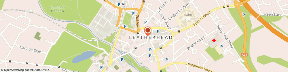 Route/map/directions to Leatherhead Grill, KT22 7AX Leatherhead, 7 North Street