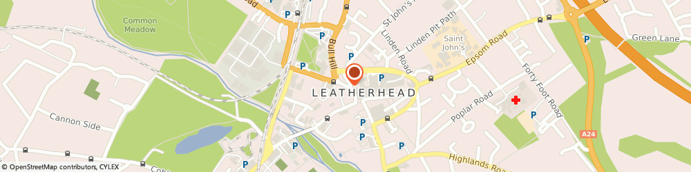 Route/map/directions to Cubitt&west - Leatherhead, KT22 7AX Leatherhead, 3 North Street