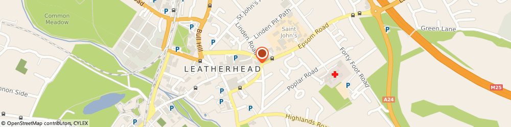 Route/map/directions to Homefix (Building Supplies) Limited, KT22 8AH Leatherhead, 67 High St
