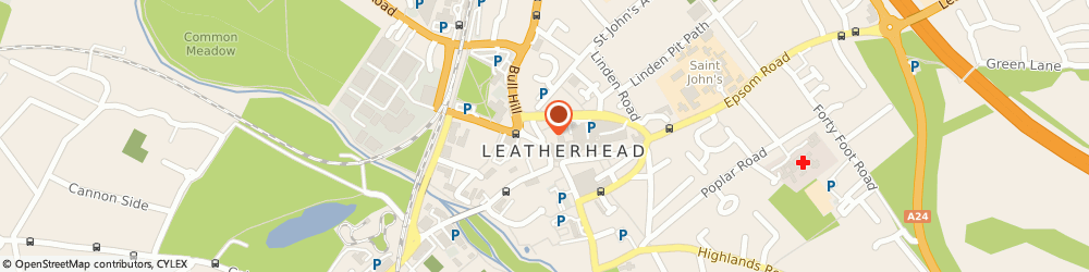 Route/map/directions to T W m Solicitors, KT22 7HF Leatherhead, Sweech House, Gravel Hill