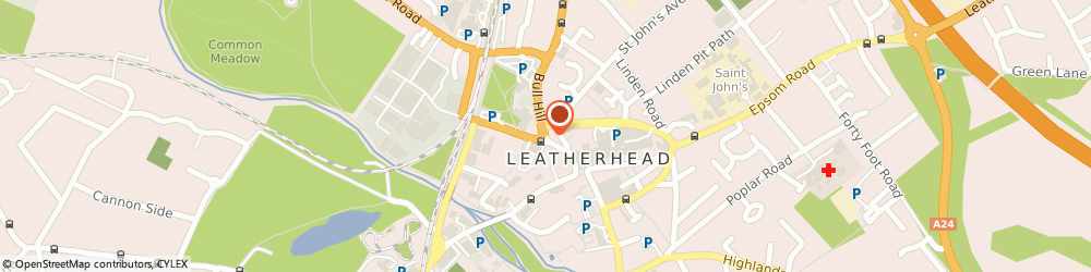 Route/map/directions to Carshop, KT22 7AT Leatherhead, 26 North Street
