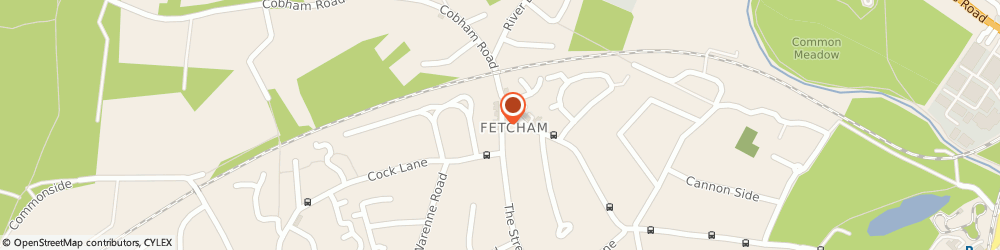 Route/map/directions to Surrey Spice, KT22 9RD Fetcham, 87 The Street