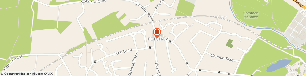 Route/map/directions to Fetcham Fish Bar, KT22 9RD Fetcham, 85 The St
