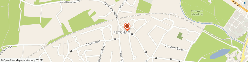 Route/map/directions to Lag Building, KT22 9SH Fetcham, CALVIA, COBHAM ROAD