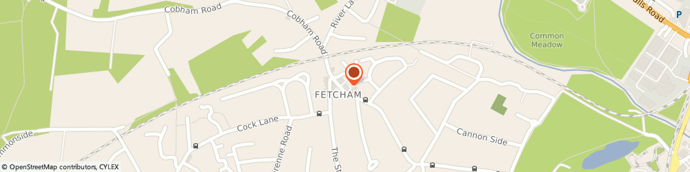Route/map/directions to Greenwise Shop- Cafe, KT22 9JQ Fetcham, 236-240 Cobham Road