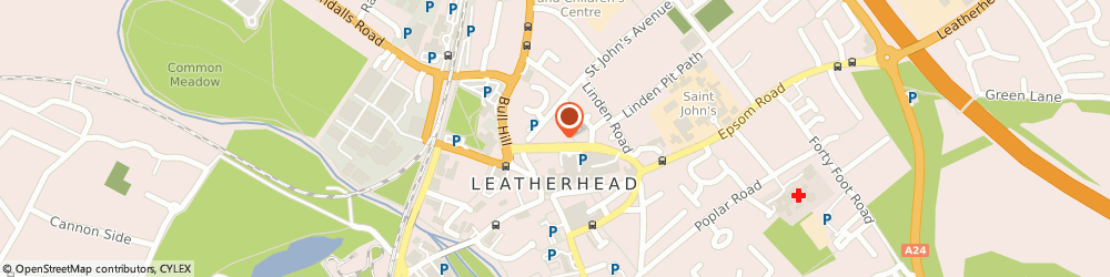 Route/map/directions to Bcs Security Limited, KT22 7HJ Leatherhead, THE FAIRFIELD, UPPER FAIRFIELD ROAD