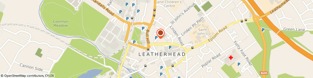 Route/map/directions to BUCHANAN & CURWEN SECURITY LIMITED, KT22 7HJ Leatherhead, Upper Fairfield Road