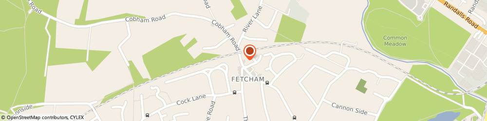 Route/map/directions to The Fetcham Tandoori, KT22 9JF Fetcham, 248 Cobham Road