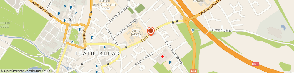 Route/map/directions to Travelodge, KT22 8AA Leatherhead, 11-15 High Street